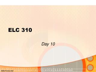 ELC 310