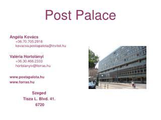 Post Palace