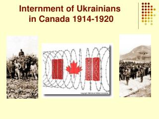 Internment of Ukrainians           in Canada 1914-1920