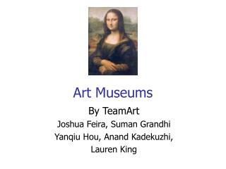 Art Museums