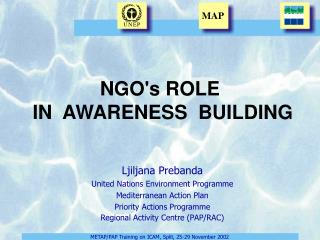 NGO's ROLE  IN  AWARENESS  BUILDING