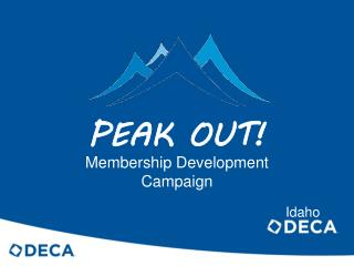PEAK OUT!