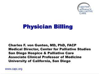 Physician Billing