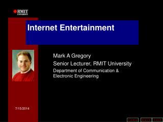 Internet Entertainment