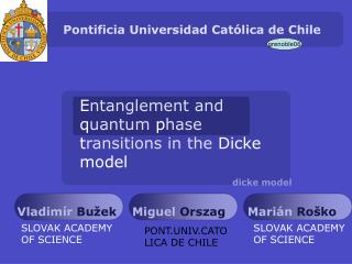 Pontificia Universidad Cat�lica de Chile