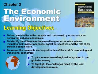 Chapter 3 The Economic Environment