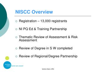 NISCC Overview