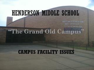 HENDERSON MIDDLE SCHOOL