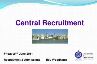 Central Recruitment