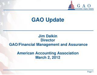GAO Update
