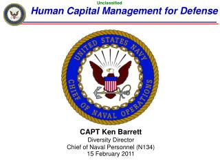 Human Capital Management for Defense