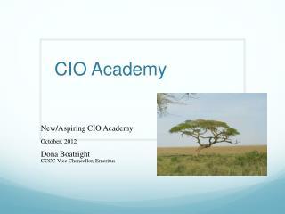 CIO Academy