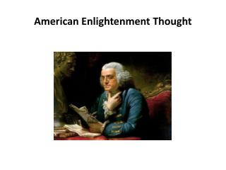 American Enlightenment Thought