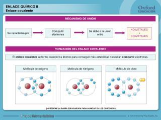 ENLACE QU�MICO II Enlace covalente