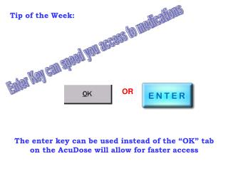Enter Key can speed you access to medications