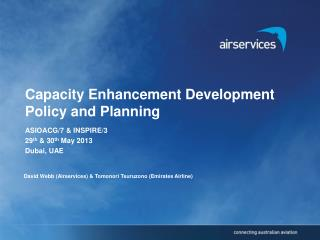 Capacity Enhancement Development Policy and Planning
