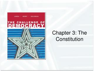 Chapter 3: The Constitution