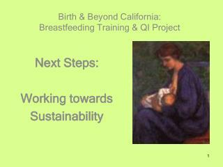 Birth & Beyond California:  Breastfeeding Training & QI Project