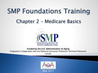 SMP  Foundations Training Chapter 2 – Medicare  Basics