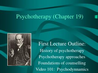 Psychotherapy (Chapter 19)