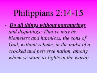 Philippians 2:14-15