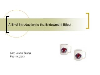 A Brief Introduction to the Endowment Effect