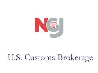 U.S. Customs Brokerage