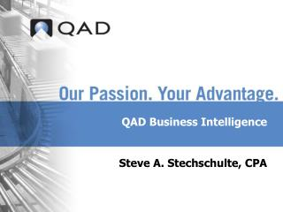 QAD Business Intelligence