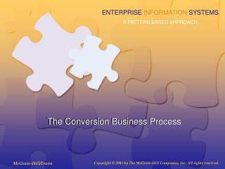 The Conversion Business Process