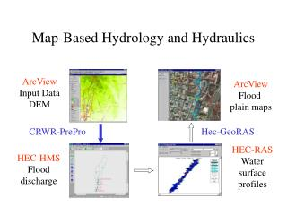 Map-Based Hydrology and Hydraulics