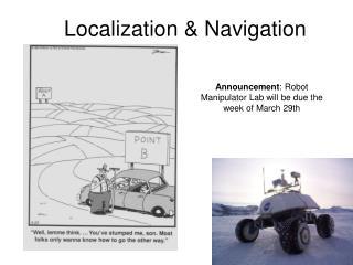 Localization & Navigation