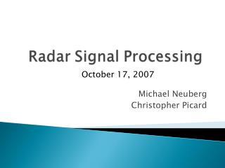 Michael Neuberg Christopher Picard