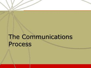 The Communications Process