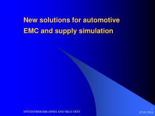 Nuevas soluciones para el autom vil