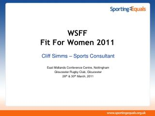 WSFF Fit For Women 2011