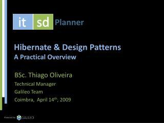 Hibernate & Design Patterns A Practical Overview