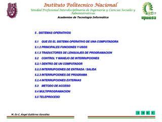 Instituto Politecnic0 Nacional
