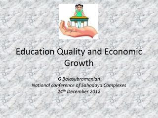 Education Quality and Economic Growth