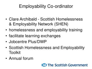 Employability Co-ordinator