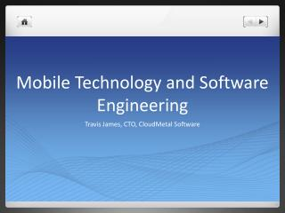 Mobile Technology and Software Engineering