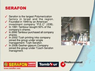 Serafon profile polymer emulsions