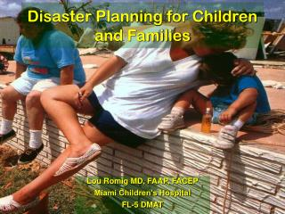Disaster Planning for Children and Families