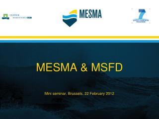 MESMA & MSFD