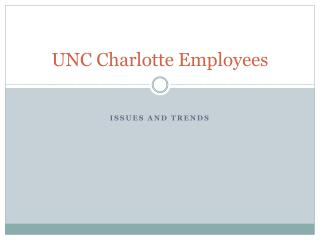 UNC Charlotte Employees