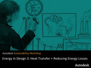 Energy in Design 3: Heat Transfer + Reducing Energy Losses