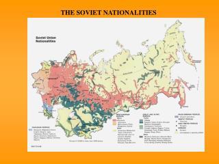 THE SOVIET NATIONALITIES