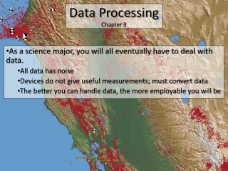 Data Processing Chapter 3
