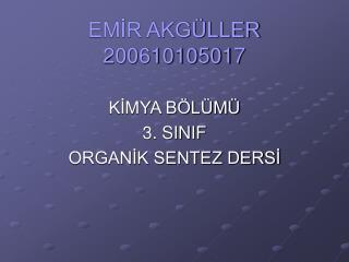 EMİR AKGÜLLER  200610105017