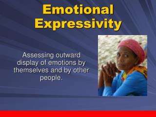 Emotional Expressivity