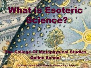 What is Esoteric Science